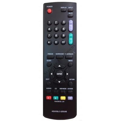 Controle TV Lcd Sharp Aquos Lc-32r24b Lc-42r24b