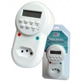 Timer Temporizador Digital 8 Prog/dia 3 pinos padrão ABNT