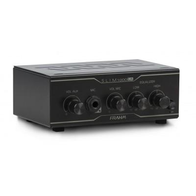 Amplificador Som Ambiente Frahm Slim 1000 LA 40w Rms