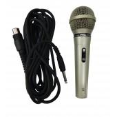Microfone profissional Carol Com Fio Mud-515