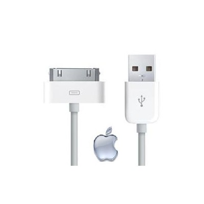 Cabo Usb Iphone Dados E Carregador Ipad Ipod 3g 3gs 4g 4s